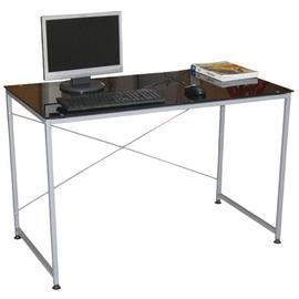 【黑武士】寬120x深60/公分(強化玻璃)書桌/電腦桌/餐桌/工作桌-TB60120G-BK