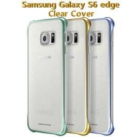 【東訊公司貨-薄型透明背蓋】三星 Samsung Galaxy S6 edge G9250/ SM-G9250 原廠輕薄防護背蓋/硬殼背蓋手機殼/保護殼