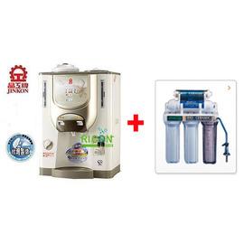 晶工自動補水溫熱型全沸式開飲機JK-360L+五道式淨水器 **免運費**