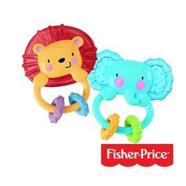 美國【Fisher-Price 費雪】動物造型固齒器(隨機出貨)