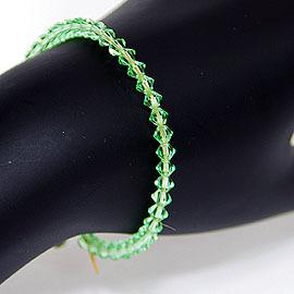 深果綠色,Swarovski 施華洛士奇奧地利水晶手鍊