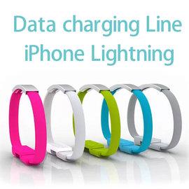 【手環充電傳輸線、Lightning】Apple iPhone 6/6 Plus/5/5S/5C/SE/iPad mini/mini 2/Air/iPad 4/5/Nano 7/touch 5