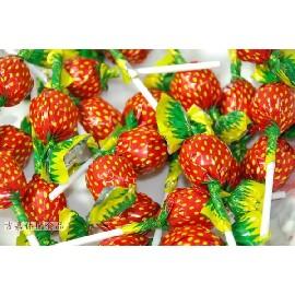 【吉嘉食品】草莓棒棒糖  1000公克145元,另有綜合水果棒棒糖,愛心棒{6057:1000}
