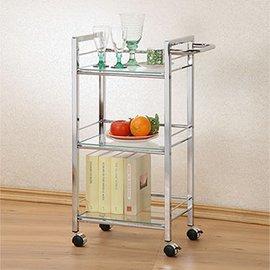 ~C  B~小跟班三層活動餐車 置物兩用櫃