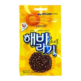 ~易購樂~韓國樂天葵瓜子巧克力 3包 組~吃上一口 停不了^~