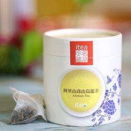 iTea我茶 阿里山高山烏龍茶 原片立體茶包15入 300元 高山茶 原產茶葉 ISO22