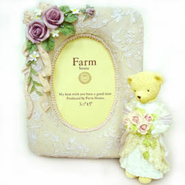 【花現幸福】☆結婚禮物-嬌羞新娘波麗相框200元☆結婚禮物  婚禮小物 相框