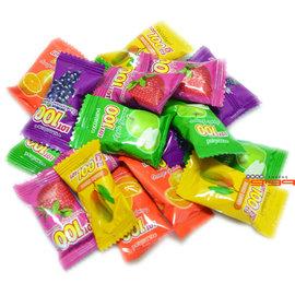 【吉嘉食品】馬來西亞一百份(100份)綜合水果QQ軟糖.300公克84元{FE07:300}