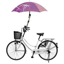 自行車傘架~可伸縮,可用於腳踏車/嬰兒車/娃娃車/輪椅/撐傘架/雨傘架 晴雨天