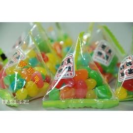 【吉嘉食品】零食物語 粽型雷根糖/雷根豆/吉利豆.600公克100元{XVD03:600}