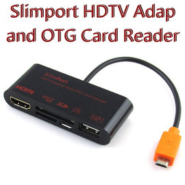 【HDMI、OTG、讀卡】華碩 ASUS Fonepad Note 6 ME560CG SlimPort 視訊轉接器/外接鍵盤、滑鼠、隨身碟、相機