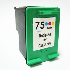 HP 環保墨水匣 CB337WA No.75 彩色  D4260  C4280  C438