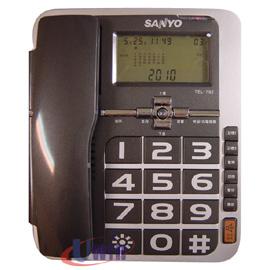 全新 三洋 SANYO TEL-792 / TEL792 来电显示有线电话
