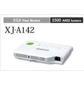 CASIO XJ~A142 超薄高亮度投影機 MADE IN JAPAN 免換燈泡 雷射