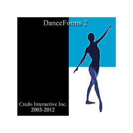 DanceForms 2.0 3D動畫編舞軟體 PC Mac