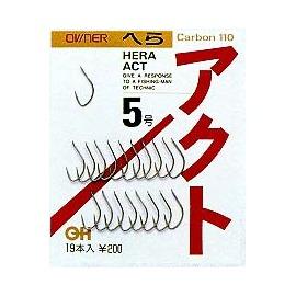◎百有釣具◎OWNER へらアクト スレ 魚鉤  Carbon 110 ~日本原裝計鯽魚勾 也可釣蝦