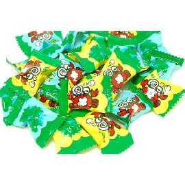 【吉嘉食品】綠得小螃蟹炮炮樂糖/泡泡樂可樂汽水糖.600公克70元{5121:600}