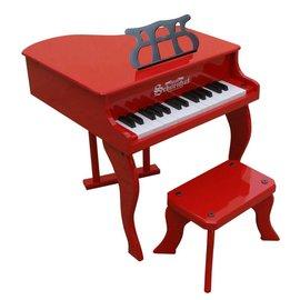 美國Schoenhut 平台玩具鋼琴3005R~30鍵^(紅^) 線上樂器展