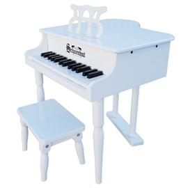 美國Schoenhut兒童古典平台玩具鋼琴309W~30鍵^(白^) 線上樂器展