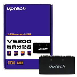~民權橋電子~Uptech 登昌��2~Port螢幕分配器 VS200