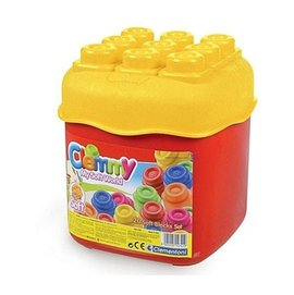 CLEMMY義大利軟積木 20pcs正色桶裝 14741 ^(補貨中^)