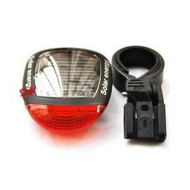 太陽能自行車燈/太陽能後燈  免電池