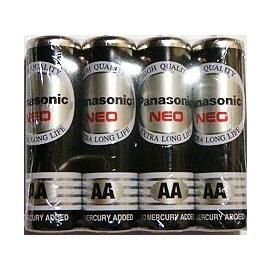 Panasonic國際牌黑色環保電池AA--3號4入