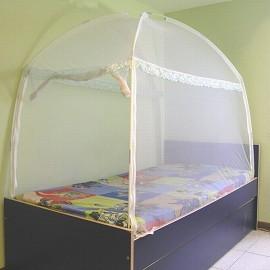A0553 〔威克爾〕三門蒙古包式蚊帳-3.5*6.2單人床專用