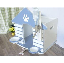 ~La Vi Dream ~ QUALITY 寵物小狗屋~附可調式飲水器 狗碗 工學 ~~