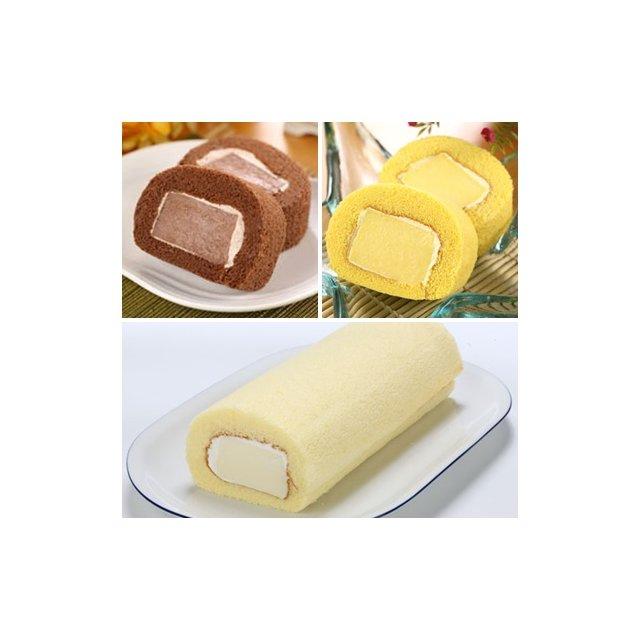 ~新橋蛋糕~奶凍捲系列~香草、巧克力、芋頭、芒果~