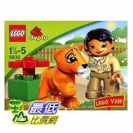 [美國Amazon 代轉帳服務費100元] 2009年最新LEGO樂高 得寶duplo 動物看護 5632 $255 服務費100元