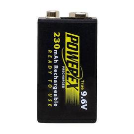 MAHA-POWEREX 9V鎳氫230mAh充電池MH-96V230★啟動快★壽命長★免運費