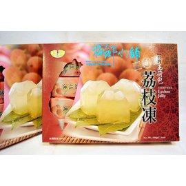 荔枝凍10入單1包裝,有椰果在裡面唷!每一口都是讓人融化的甜蜜滋味 ,Q軟有嚼勁~大人小孩