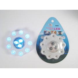 露營專用12顆白光LED燈 露營燈可兩段式切換