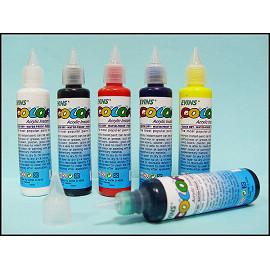 DIY 彩繪 ~~40ml 級彩繪顏料 ~ 一般色~單支 ! 彩繪鞋  壓克力顏料  防水