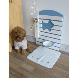 ~La Vi Dream ~ QUALITY 牆面式寵物餐桌~附可調式飲水器 狗碗 工學