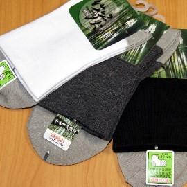 竹炭纖維棉襪╭~ 細針•寬口舒壓型^(男女 ^)短襪_^(3雙入^)