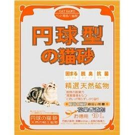 丹球型貓砂~果香味~球砂5L(粗 細砂)