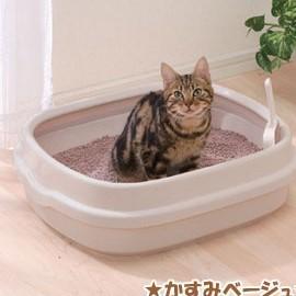 IRIS圓弧流線貓砂盆大•NE~550