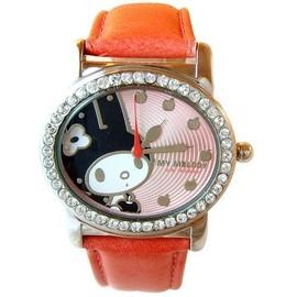 《美樂蒂》甜蜜晶鑽腕錶買就送hello kitty水晶印章一個
