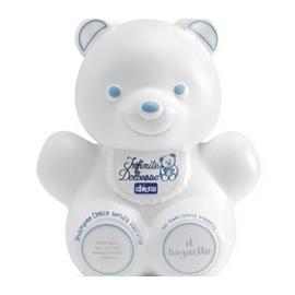 A0064 《CHICCO》嬰兒熊型潤膚泡泡浴露溫和配方-300ml
