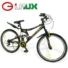 ~LAUX 雷克斯~幻影 26吋18速避震自行車 C114~17  腳踏車.卡打車.單車.
