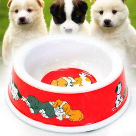 可愛寵物碗盤C99-0081圓碗食物碗盤小狗碗盤小貓碗盤單口碗大狗食盆飼料食碗零食碗公碗盆防滑碗止滑碗