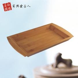 竹製長方雙耳大奉茶盤 P205-A02