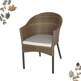 小沙發造型藤椅(不含椅墊,椅墊加購需840元).客廳家具 P020-HC-331