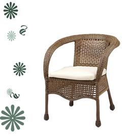 造型籐編沙發椅.客廳家具.藤椅 P020-HC-335