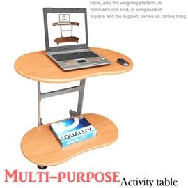 【耐重型】雙層-活動式電腦桌 P065-TB4880H (辦公家具.傢俱,家具,傢具,家俱,室內桌.桌子.特賣會)