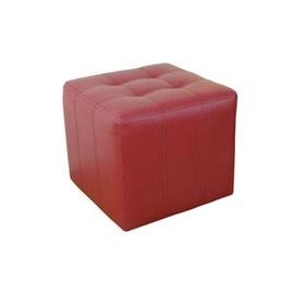【特大型】48公分(寬)高級紅色皮革-沙發椅.客廳家具.椅子 GRB008-B