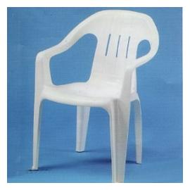 中背椅.庭院家具.塑膠椅 P020-01001
