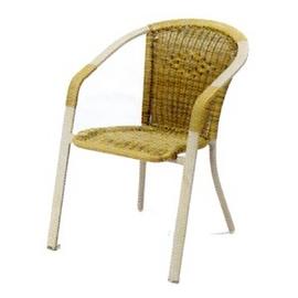 P020-HC-019 扁管籐椅.庭院家具